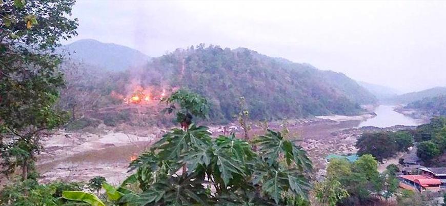 Myanmar'da iki askeri hava üssüne saldırı