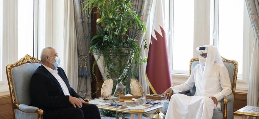 Hamas lideri Heniye Katar Dışişleri Bakanı ile görüştü