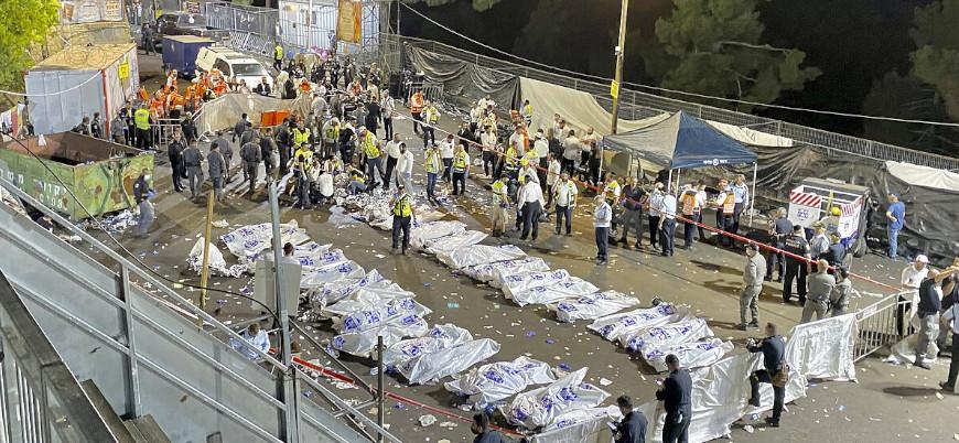 İsrail'de bayram kutlamalarında izdiham: 44 ölü