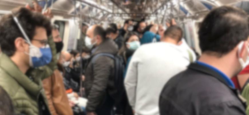 Kapanmanın ilk günü: Toplu taşıma ve trafikte yoğunluk