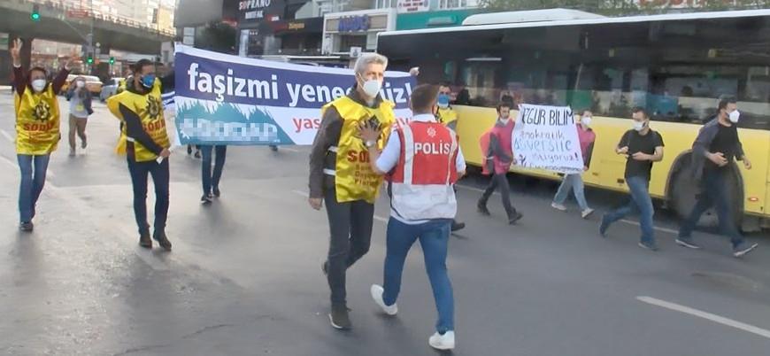 1 Mayıs: Taksim'e çıkmak isteyen 212 kişi gözaltına alındı