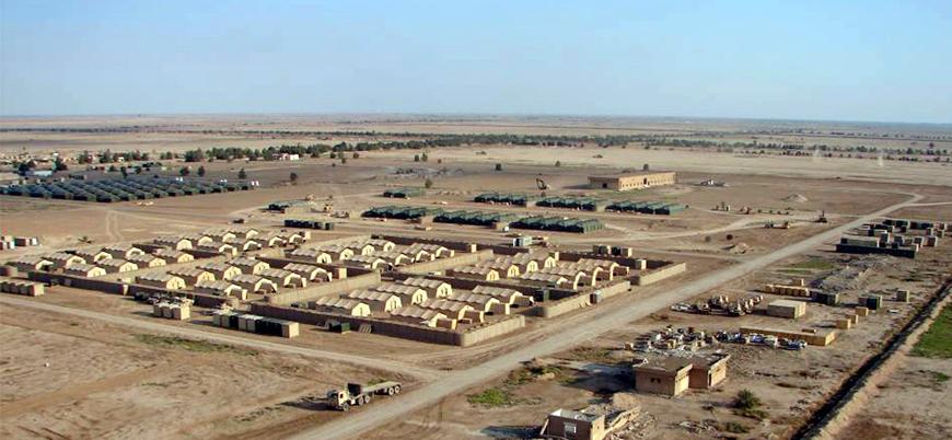 Irak'ta ABD kuvvetlerinin bulunduğu üsse saldırı