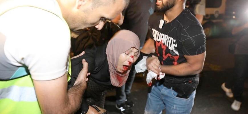 Kudüs: İsrail güçlerinin saldırılarında onlarca kişi yaralandı