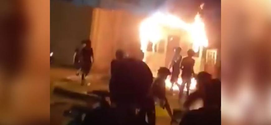 Kerbela'daki İran konsolosluğunun ateşe verilmesine Tahran'dan kınama