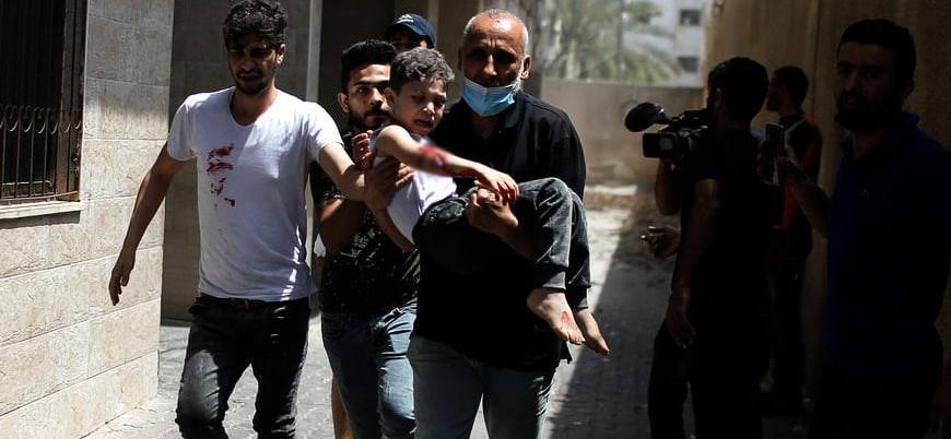Dışişleri Bakanlığı: İsrail'in Gazze'ye yönelik saldırılarını şiddetle lanetliyoruz