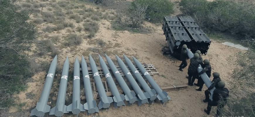 Gazze'den atılan roketler ve menzilleri