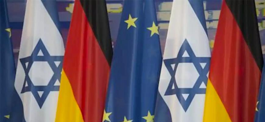 Almanya'dan Gazze'ye yönelik saldırısında İsrail'e destek