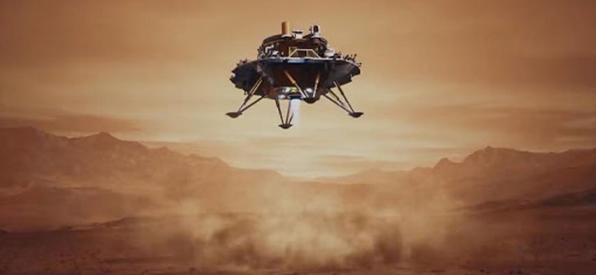 "Çin'in uzay aracı ""Tianwen-1"" Mars'a iniş yaptı"