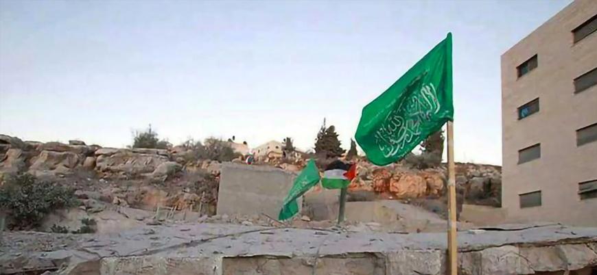 """""""Almanya 'Hamas'a ait' olarak nitelediği yeşil tevhid bayrağını yasaklayabilir"""""""