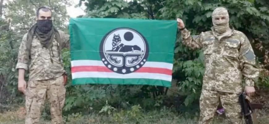 Donbas'ta Ukrayna için savaşan Çeçen savaşçılara yaptırım