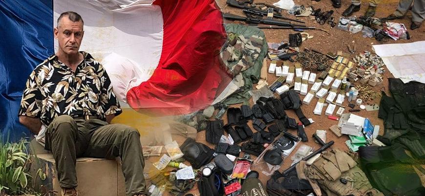 Orta Afrika'da milis gruplara silahlı eğitim veren Fransız yakalandı