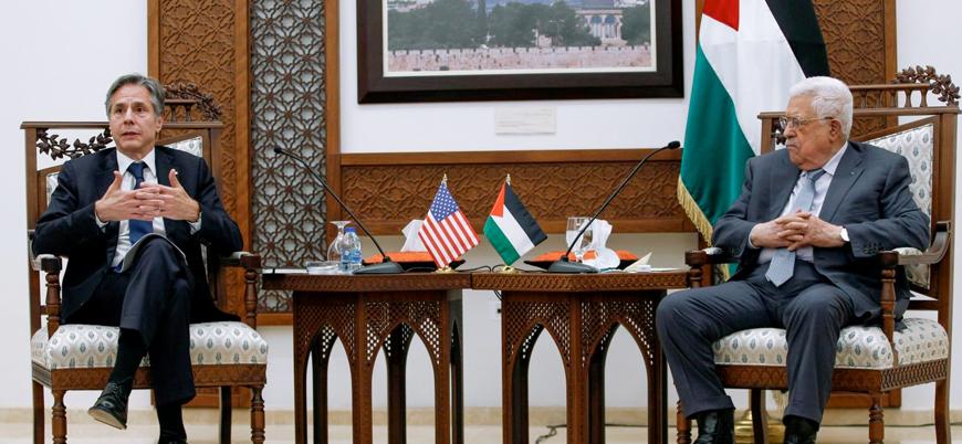 ABD Dışişleri Bakanı Blinken Filistin yönetimi başkanı Abbas ile görüştü