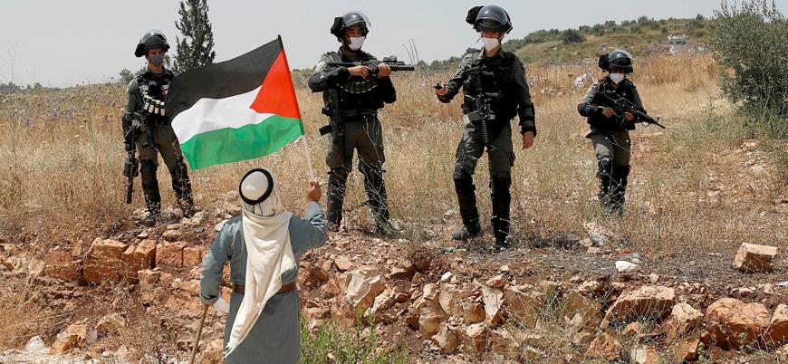 Haritalarla Kudüs, Filistin meselesi ve İsrail işgali