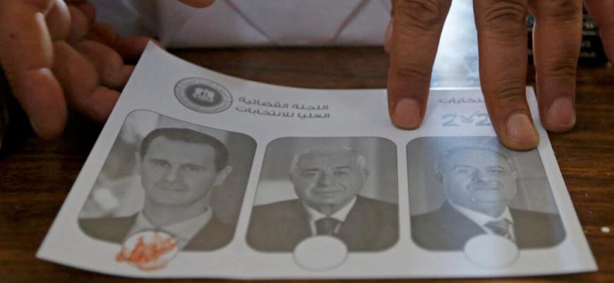 Beşar Esed'in seçimleri: 9 milyonluk bölgeden Esed'e 13 milyon oy çıktı