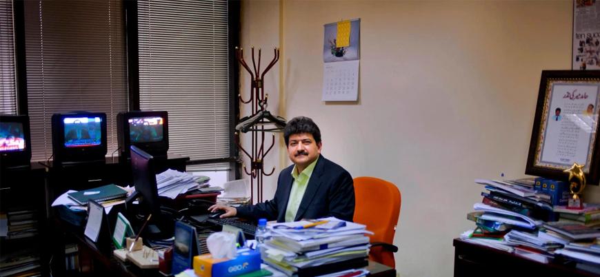 Pakistan'da orduyu eleştiren Hamid Mir'in programına son verildi