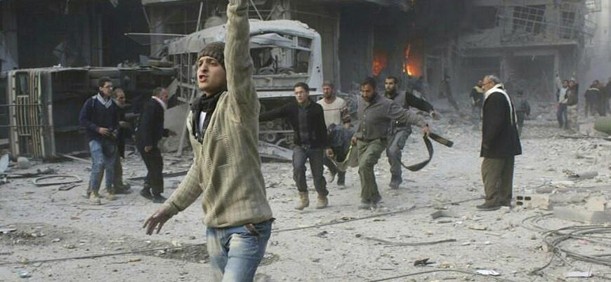 Suriye'de 10 yıldır devam eden savaş 500 bin cana mal oldu
