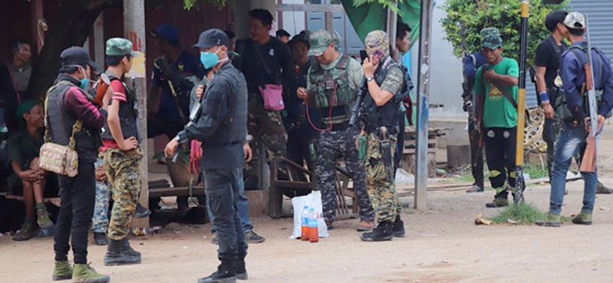 """""""Myanmar ordusuna yönelik saldırıda 80 asker öldü"""""""