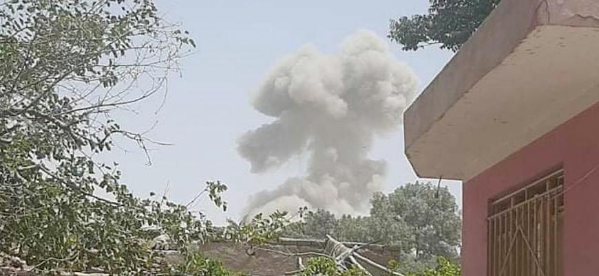 Afganistan'ın kuzeyindeki Belh şehrinde hükümet güçlerine bombalı araç saldırısı
