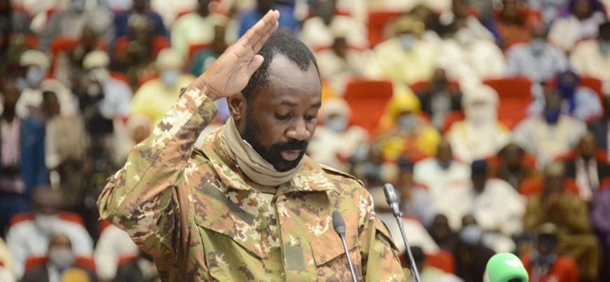 Mali'de cunta lideri Albay Assimi Goita ülkenin başına geçti