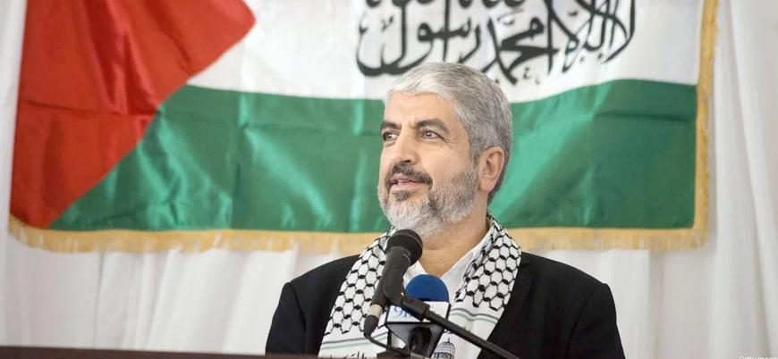 Hamas lideri Halid Meşal: İran Filistin'e yardım üzerinden imaj çalışması yapıyor