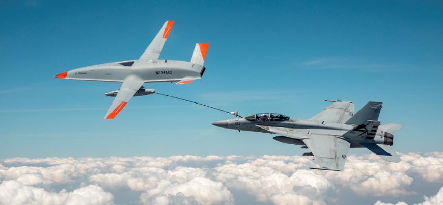 Boeing'in tanker drone'u MQ-25A ilk yakıt ikmal testini başarıyla tamamladı