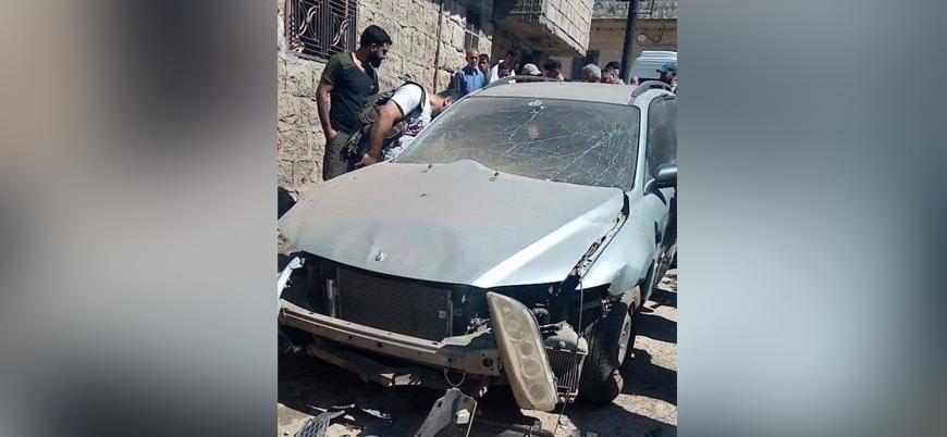 Zeytin Dalı bölgesi Afrin'de patlama