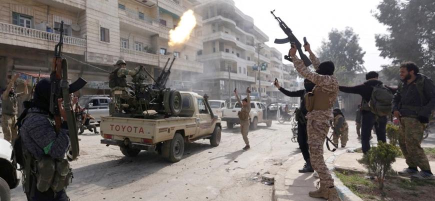 Afrin'de Türkiye'nin desteklediği 'ÖSO' grupları arasında çatışma