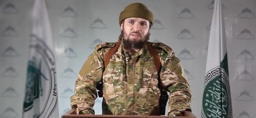 """""""HTŞ'nin askeri sözcüsü Ebu Halid eş Şami Rus bombardımanında yaşamını yitirdi"""""""