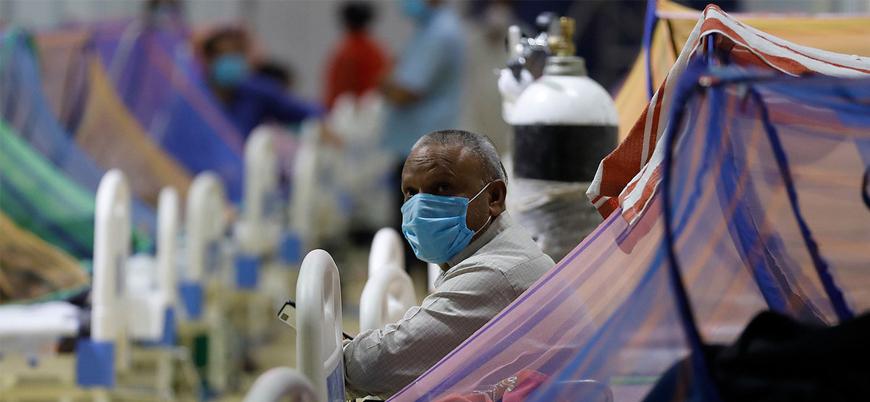 Hindistan'da bir günde 6 binden fazla kişi koronavirüsten öldü