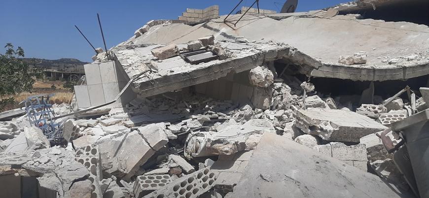 Rusya ve Esed İdlib'i yoğun şekilde vuruyor: 11 sivil hayatını kaybetti