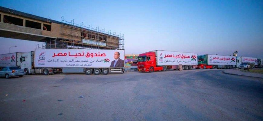 Sisi'nin Gazze'ye gönderdiği yardım tırından 50 kutu ilaç çıktı