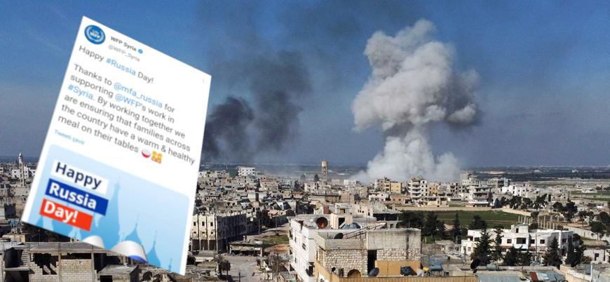 Birleşmiş Milletler'den Suriye'de fırınları bombalayan Rusya'ya teşekkür