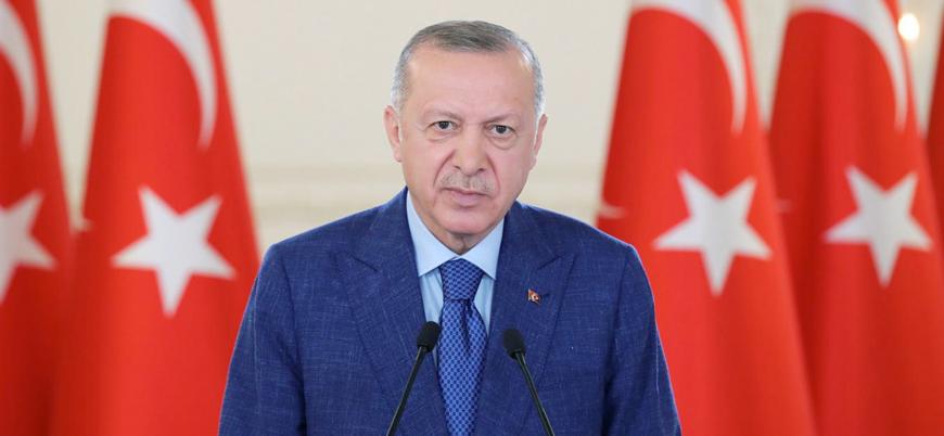 Erdoğan gaz yakma töreninde konuştu: Burada yanan ateşe iyi baksınlar