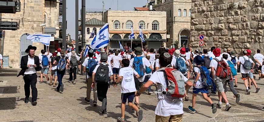Yahudilerin 'bayrak yürüyüşü' planı Doğu Kudüs'te gerilimi yeniden artırdı