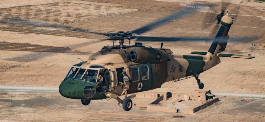Afganistan'da 'Kara Şahin' düştü