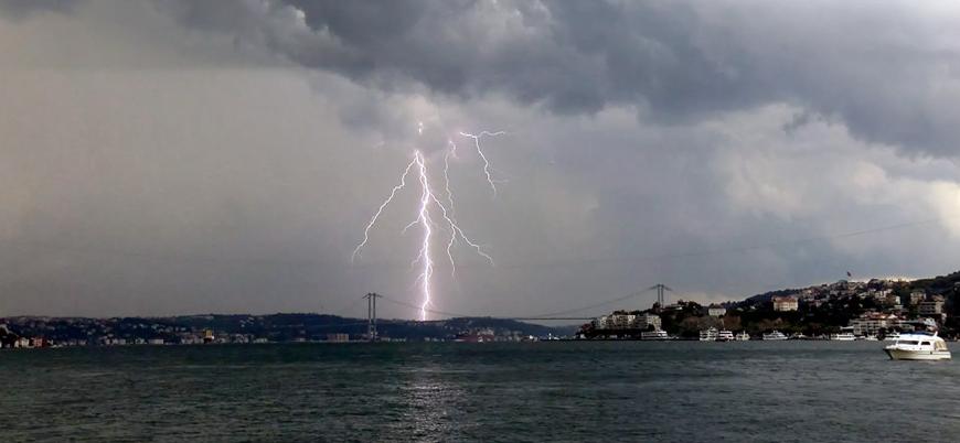 Marmara için kuvvetli sağanak uyarısı