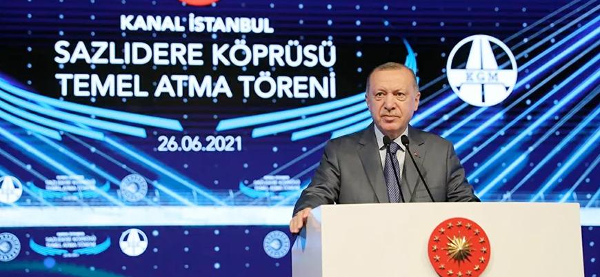 Erdoğan'dan 'Kanal İstanbul' açıklamaları