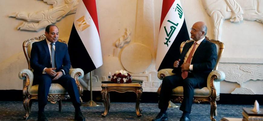 30 yıl sonra ilk ziyaret: Sisi Irak'ta