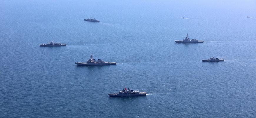 Karadeniz'de 32 ülkenin katıldığı NATO tatbikatı başladı