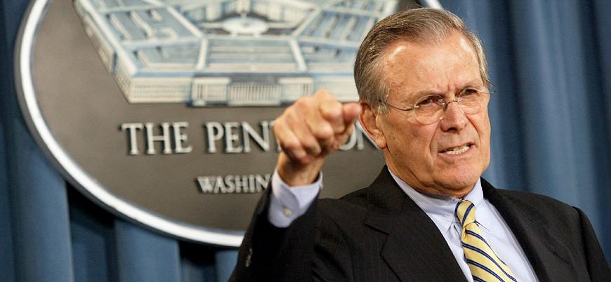 Afganistan ve Irak işgallerinin mimarıydı: ABD'nin eski Savunma Bakanı Rumsfeld öldü