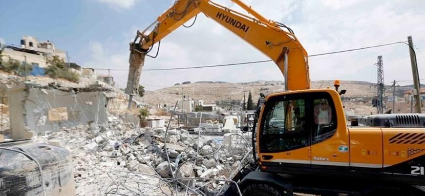 İsrail Filistinlilerin evlerini yıkmaya devam ediyor