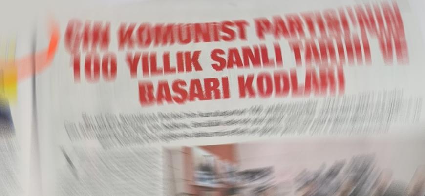 """Türkiye'de bir gazete bu başlıkla çıktı: """"Çin Komünist Partisi'nin 100 yıllık şanlı tarihi"""""""