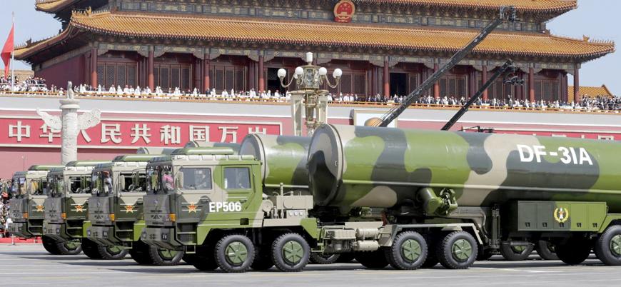 """""""Çin nükleer silahlar için yüzden fazla silo inşa ediyor"""""""