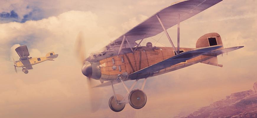 Tarihte karadan havaya atışla uçak düşüren ilk devlet: Osmanlı