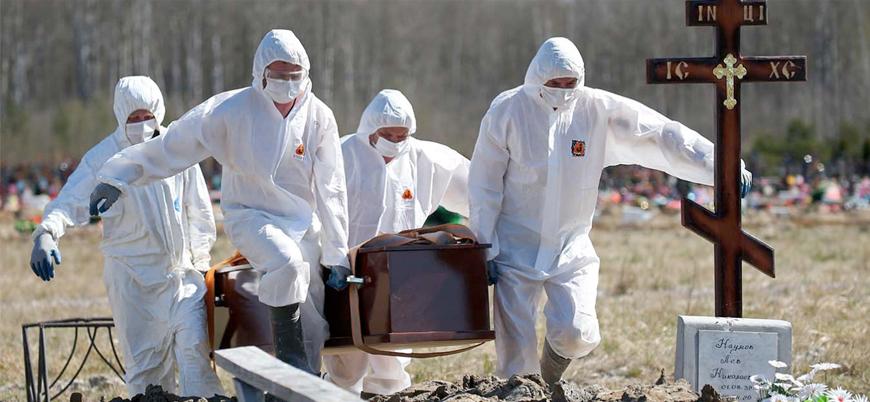 Rusya'da koronavirüs ölümleri rekor kırdı