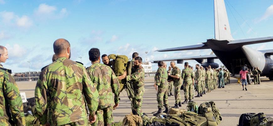 Portekiz 'IŞİD ile mücadele' için eski sömürgesi Mozambik'e asker gönderiyor