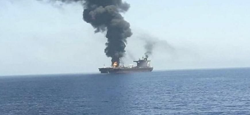 Hint Okyanusu'nda İsrail gemisine saldırı