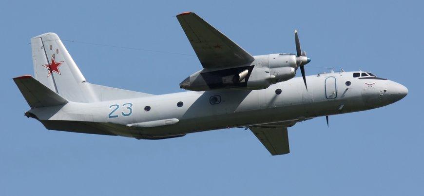 Rusya'da An-26 tipi uçak denize düştü: Kurtulan olmadı