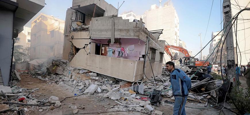 Gazze'de İsrail saldırılarında 570 milyon dolarlık zarar oluştu