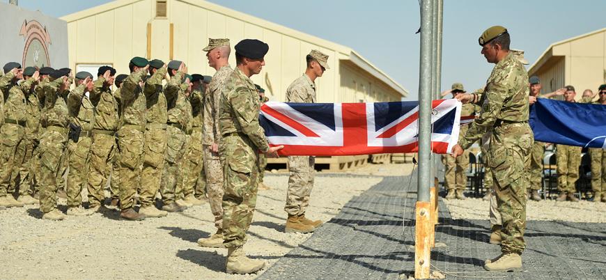 İngiliz ordusu Afganistan'dan çekildi